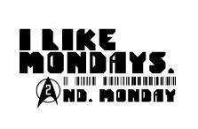 『I Like Mondays. 2nd Monday.』ロゴ (okmusic UP's)