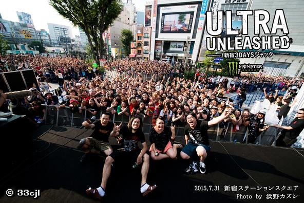 7月31日@新宿ステーションスクエア (okmusic UP\'s)