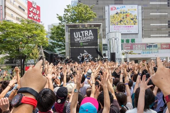 8月2日@新宿ステーションスクエア (okmusic UP's)