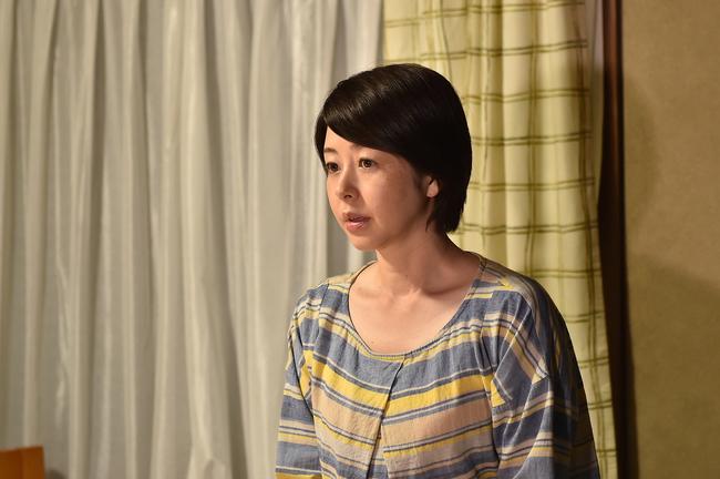 「表参道高校合唱部!」第3話で、素敵なハミングを見せた真琴の母・美奈子(堀内敬子) (c)TBS