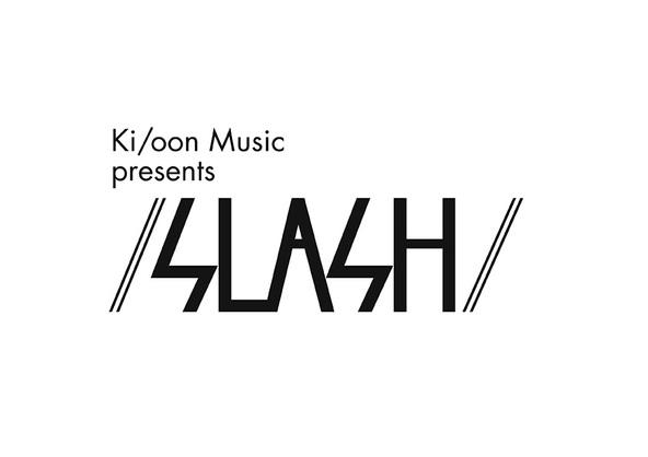 「/ SLASH /」ロゴ (okmusic UP's)