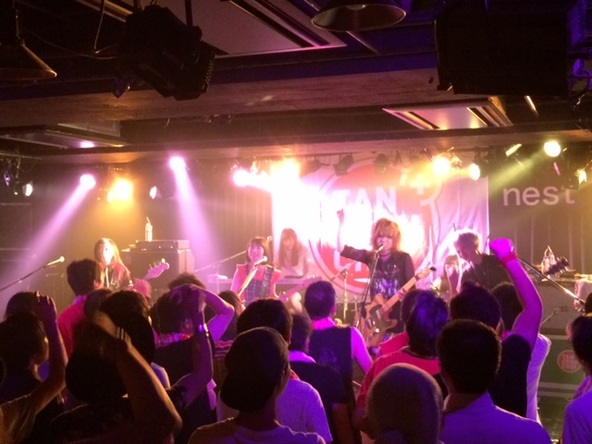 8月5日@渋谷TSUTAYA O-nest (okmusic UP's)