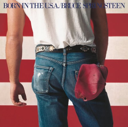 Bruce Springsteen『Born In the U.S.A.』のジャケット写真 (okmusic UP's)