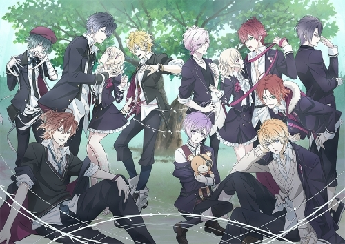 秋より放送&配信開始となるアニメ「DIABOLIK LOVERS MORE,BLOOD」キービジュアル (C)Rejet・IDEA FACTORY/DIABOLIK LOVERS PROJECT (C)Rejet・IDEA FACTORY/DIABOLIK LOVERS MB PROJECT