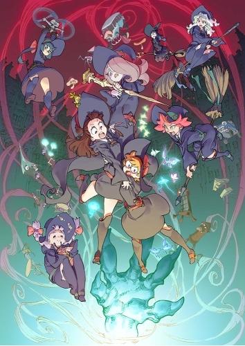 10月9日(金)より限定公開となるアニメ映画『リトルウィッチアカデミア 魔法仕掛けのパレード』本ビジュアル (C)2015 TRIGGER/吉成曜/GOOD SMILE COMPANY
