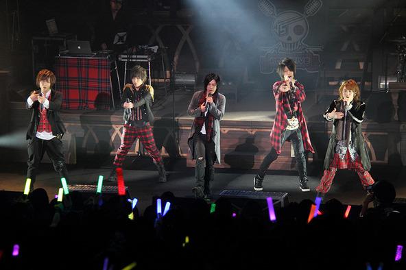 1月29日@福岡国際会議場(左から、けったろ、koma'n、蛇足、みーちゃん、ぽこた) (okmusic UP\'s)