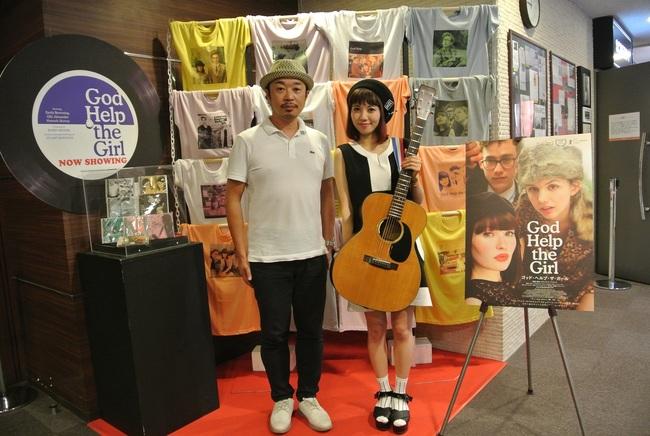 8月21日(金)@映画『ゴッド・ヘルプ・ザ・ガール』トークイベント