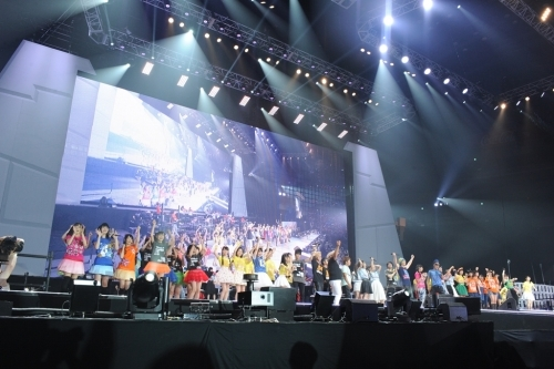 """Animelo Summer Live 2015 -THE GATE-""8月30日(日)フィナーレの模様 (C)Animelo Summer Live 2015/MAGES."