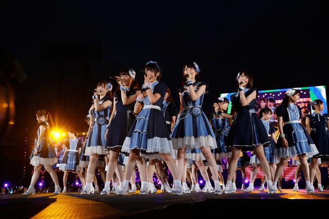 8月30日、31日に明治神宮野球場にてライブを行った乃木坂46
