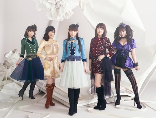 堀江由衣「天使のたまご」にて集結するAice5のメンバー