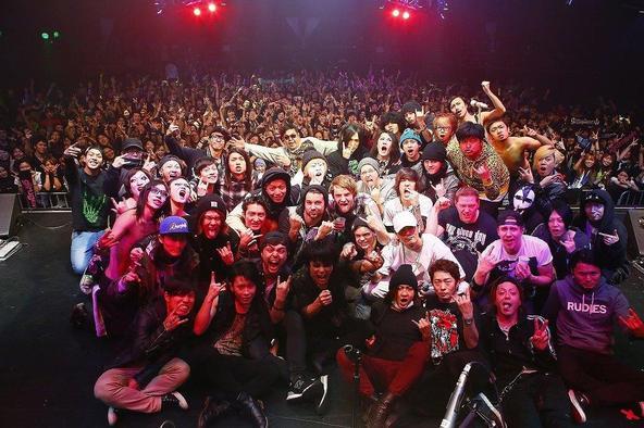 2月2日@新木場STUDIO COAST photo by 洲脇 理恵(MAXPHOTO)、maru (okmusic UP\'s)