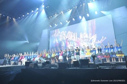 """大盛況のうちに幕を閉じた""""アニサマ2015""""がBSプレミアムにて6週連続放送決定(写真は8月28日公演の模様) (C)Animelo Summer Live 2015/MAGES."""