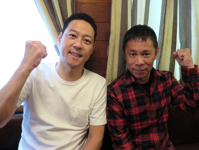 「旅猿」シーズン8への意気込みを語った東野幸治と岡村隆史