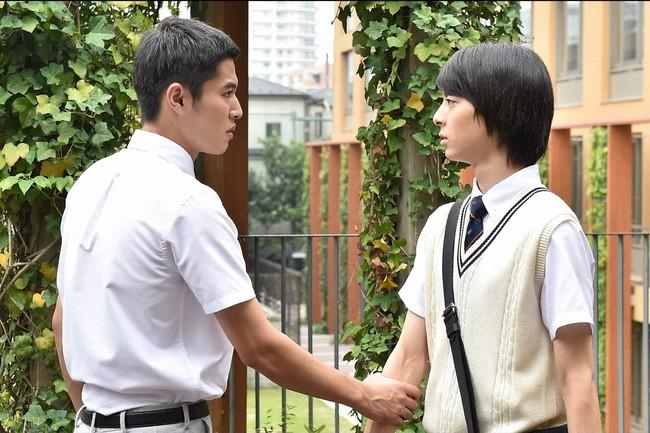 今回、宮崎祐(高杉真宙)・左が想いを伝えた桜庭大輔(堀井新太)   (c)TBS