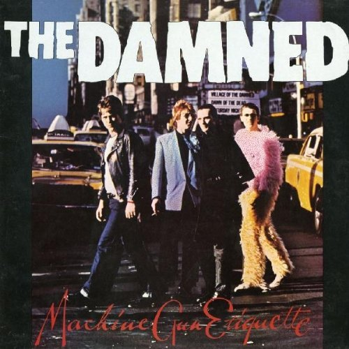 THE DAMNED 『MACHINE GUN ETIQUETTE』のジャケット写真
