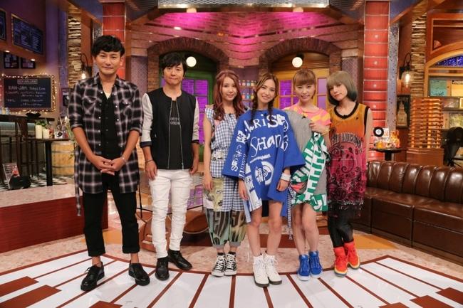 9月20日(日)放送の「関ジャム 完全燃SHOW」にゲスト出演するポルノグラフィティとSCANDAL (C)テレビ朝日