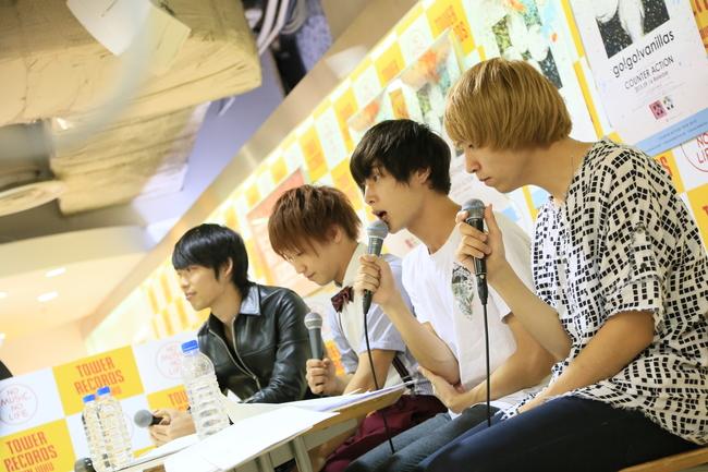9月19日@TOWER RECORDS新宿店