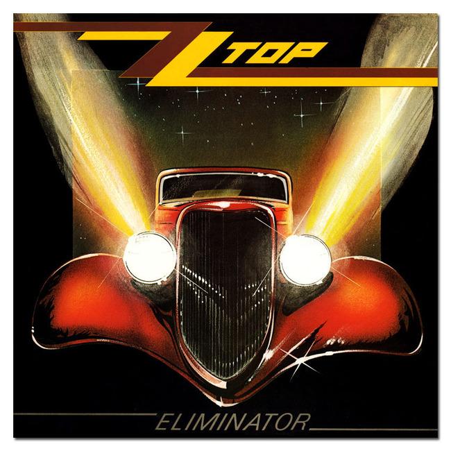 ZZ Top『Elminator』のジャケット写真