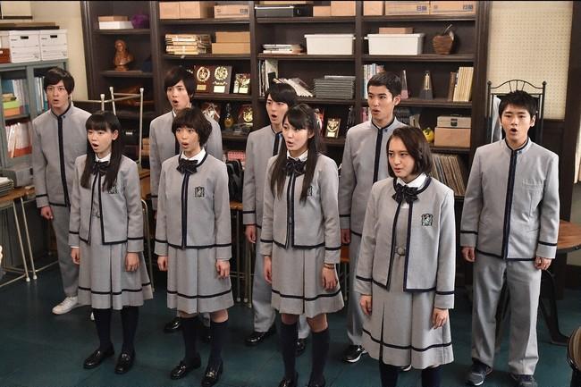 合唱部は廃校そして歌う心を「愛の歌」で取り戻せるのか? (c)TBS