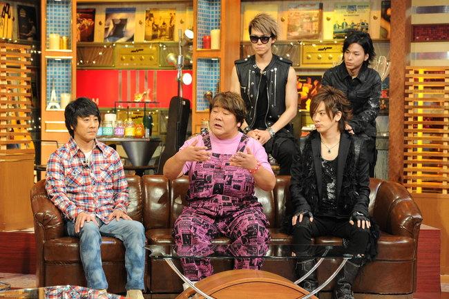 9月27日(日)放送の「関ジャム 完全燃SHOW」にゲスト出演しトークを披露する、山崎まさよし、石塚英彦、BREAKERZ (C)テレビ朝日