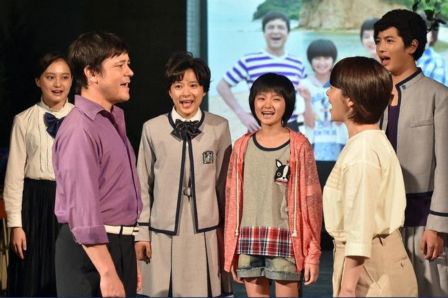 劇中劇「愛の歌」を通して離婚の危機を乗り越え、再びハーモニー重ねる香川家  (C)TBS