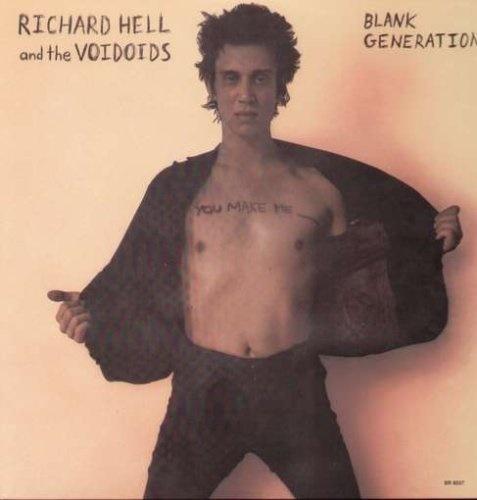 Richard Hell & The Voidoids『Blank Generation』のジャケット写真