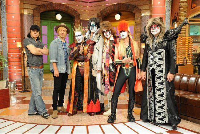 「関ジャム 完全燃SHOW」に出演する(写真左より)世良公則、つるの剛士、聖飢魔II (C)テレビ朝日