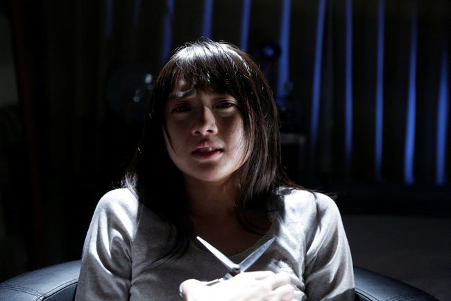 「AKBホラーナイト」第1話「ハサミ」に主演する木崎ゆりあ(AKB48) (c)テレビ朝日