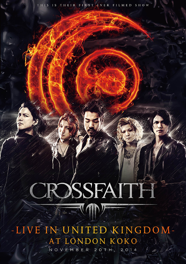 "DVD&Blu-ray「""Crossfaith -LIVE IN UNITED KINGDOM- AT LONDON KOKO""」"