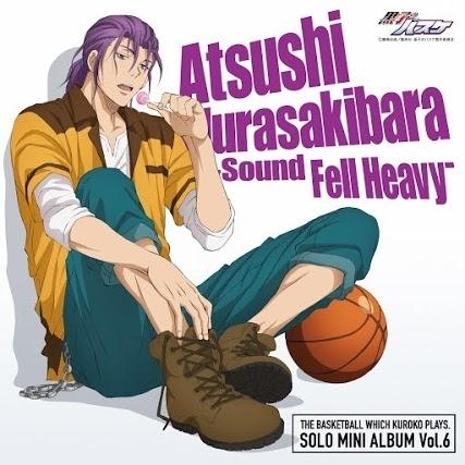 『SOLO MINI ALBUM Vol.6 紫原 敦 - Sound Fell Heavy -』ジャケット画像 (C)藤巻忠俊/集英社・黒子のバスケ製作委員会