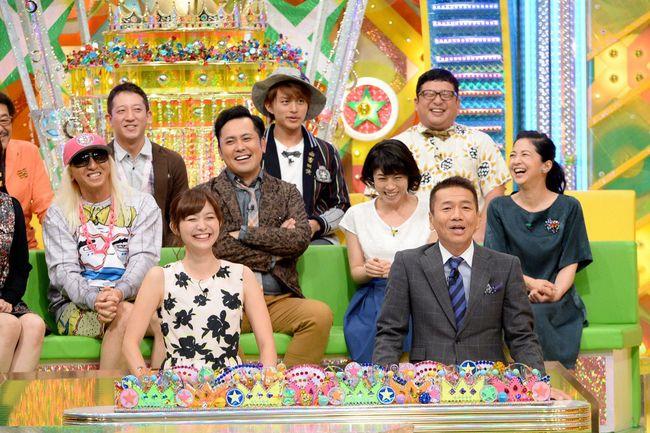大盛り上がりのスタジオ (C)テレビ朝日