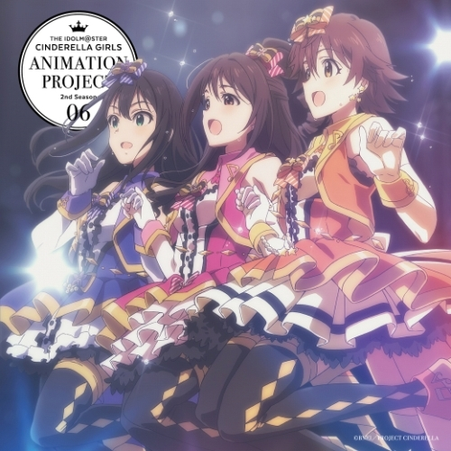 11月11日に発売が決定した、「THE IDOLM@STER CINDERELLA GIRLS ANIMATION PROJECT 2nd Season 06」ジャケット (C)BNEI/PROJECT CINDERELLA