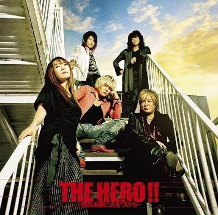 JAM Project「THE HERO !! ~怒れる拳に火をつけろ~」アーティスト盤ジャケット画像
