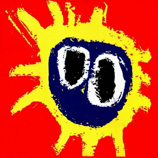 PRIMAL SCREAM『Screamadelica』のジャケット写真