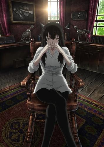 TVアニメ「櫻子さんの足下には死体が埋まっている」キービジュアル (C)2015 太田紫織・エブリスタ/KADOKAWA/『櫻子さん』製作委員会