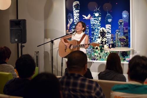 10月16日にイベントを行った森恵さん
