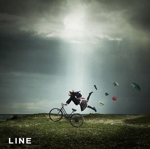 スキマスイッチ「LINE」ジャケット画像