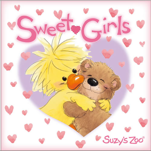 "「Suzy's Zoo」のキャラを起用したコンピレーションアルバム""Sweet・Girls"" (c)Listen Japan"