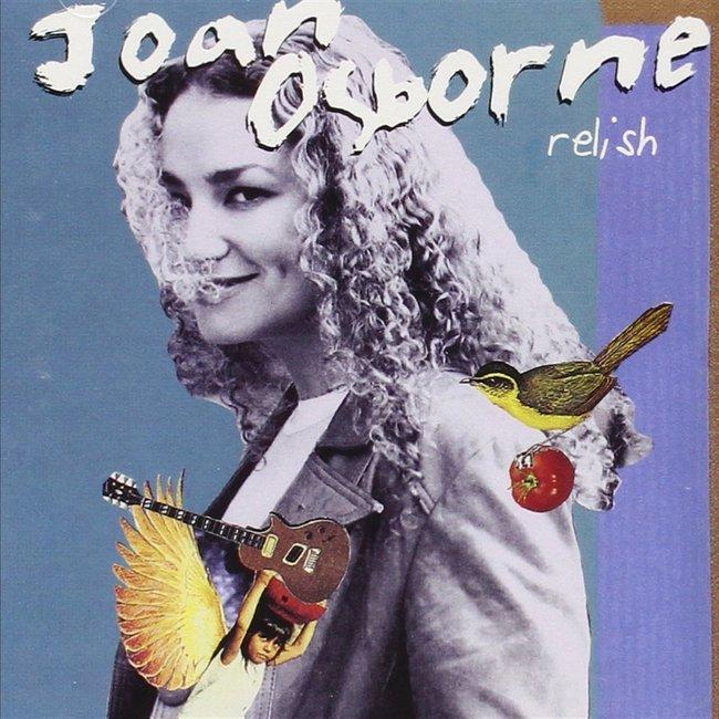 Joan Osborne『Relish』のジャケット写真