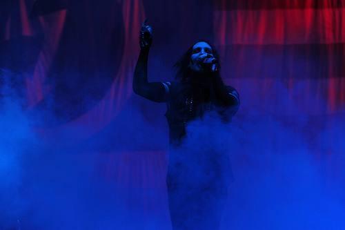 『V-ROCK FESTIVAL'09』初日のトリを務めたマリリン・マンソン (C) V-ROCK FESTIVAL '09