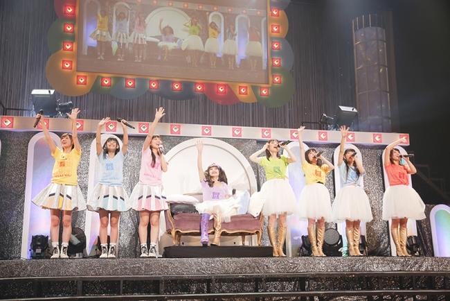 NHKホールにて2マンライブを開催したAice5とイヤホンズ Photo by HAJIME KAMIIISAKA
