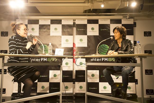 11月19日@渋谷モディ・InterFMサテライトスタジオ