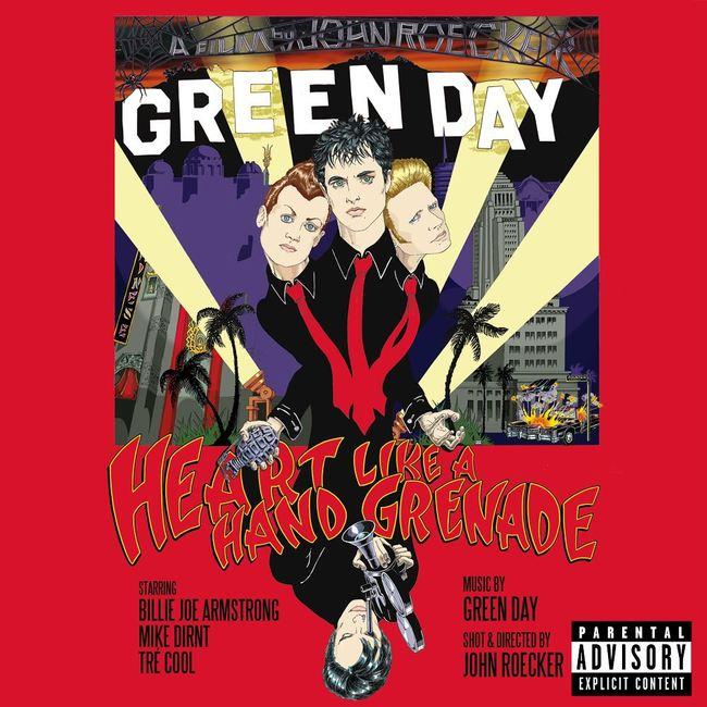 DVD『Heart Like A Hand Grenade』