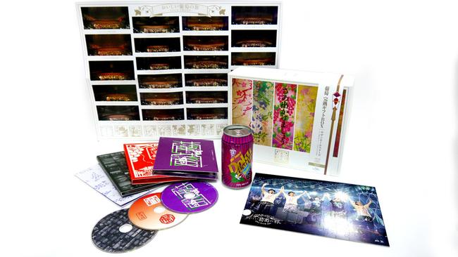 DVD&Blu-ray『おいしい葡萄の旅ライブ -at DOME & 日本武道館-』 完全生産限定盤 展開画像
