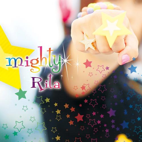 Rita『mighty』ジャケット画像 (c)ListenJapan