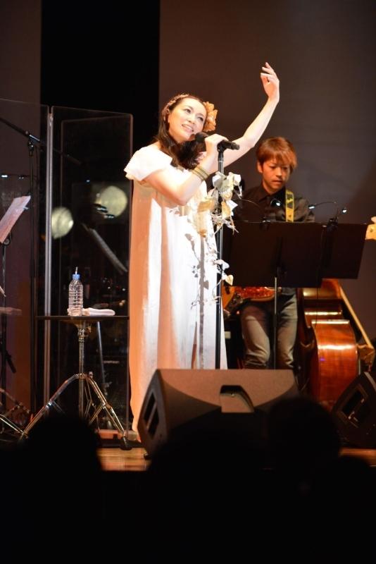 初のソロライブ「桑島法子20th Anniversary Live~Utau夜~」を開催した桑島法子