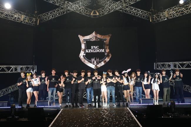 『2015 FNC KINGDOM IN JAPAN』 (c)FNC MUSIC JAPAN INC.