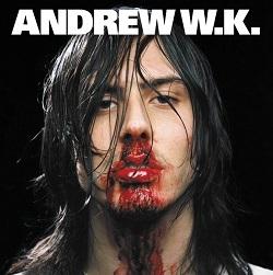 アンドリューW.K.「Party Hard」収録『I Get Wet』ジャケット画像