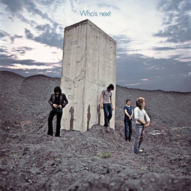 The Who『Who's next』 のジャケット写真
