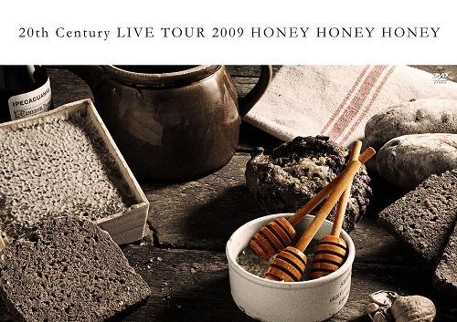 20th CenturyのライヴDVD『20th Century LIVE TOUR 2009 HONEY HONEY HONEY』(通常盤) (c)Listen Japan